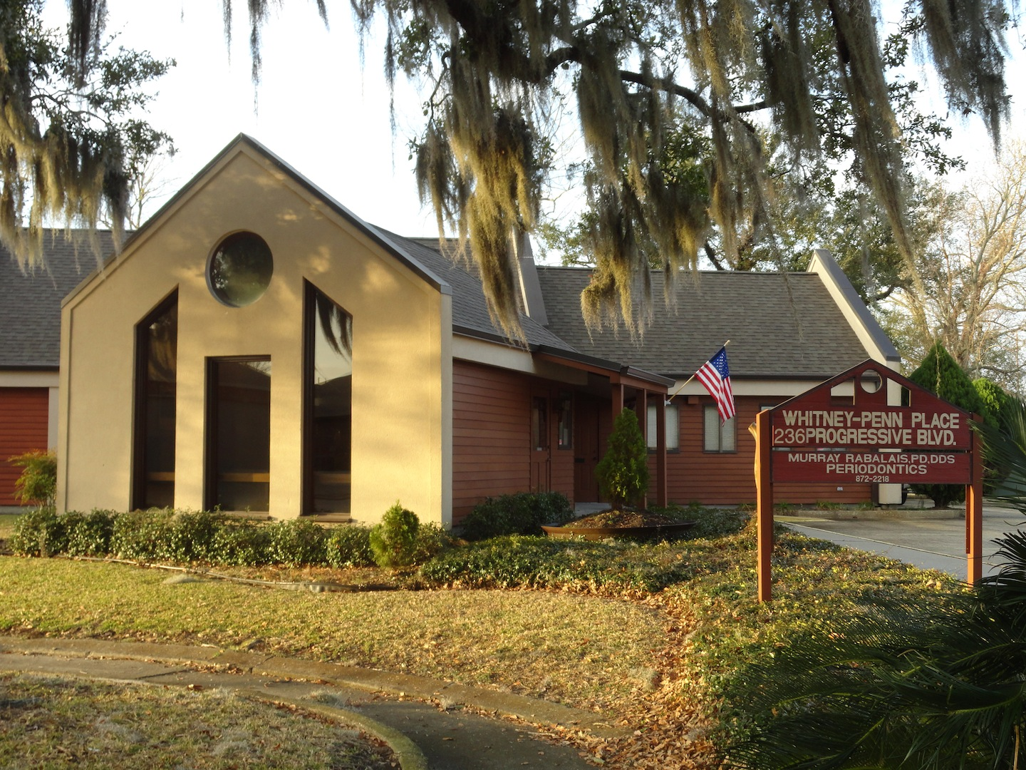 Picture of Dr. Rabalais' dental office in Houma, LA.